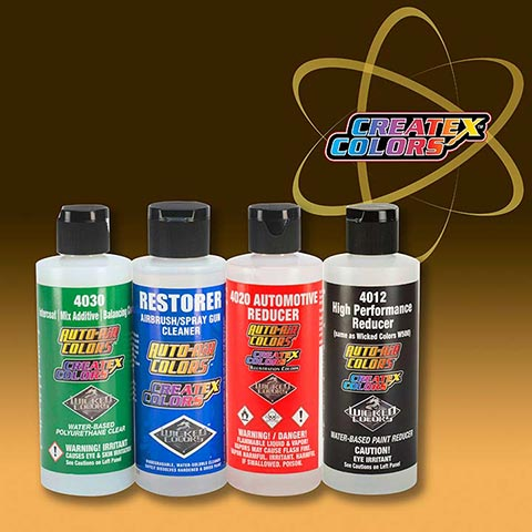 Createx Classic Reducer - Additives and Clear Coat
