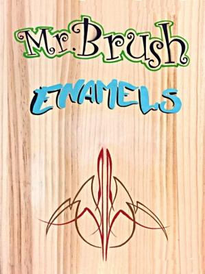 Mr. Brush Pinstripe Paint